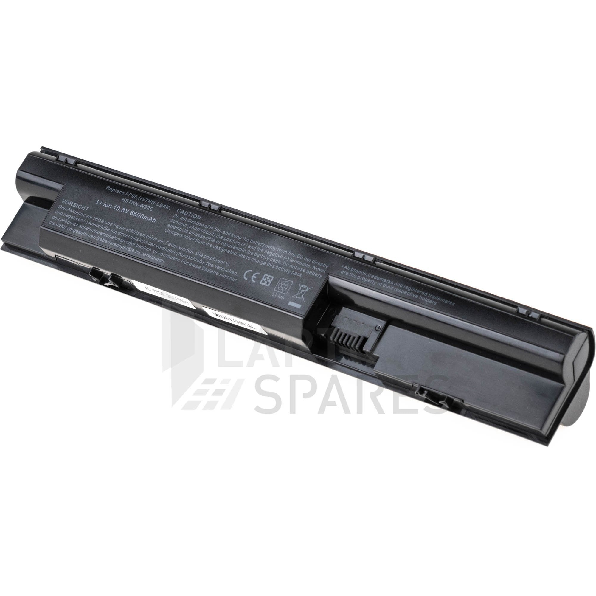 HP FP06 FP09 6600mAh 9 Cell Battery