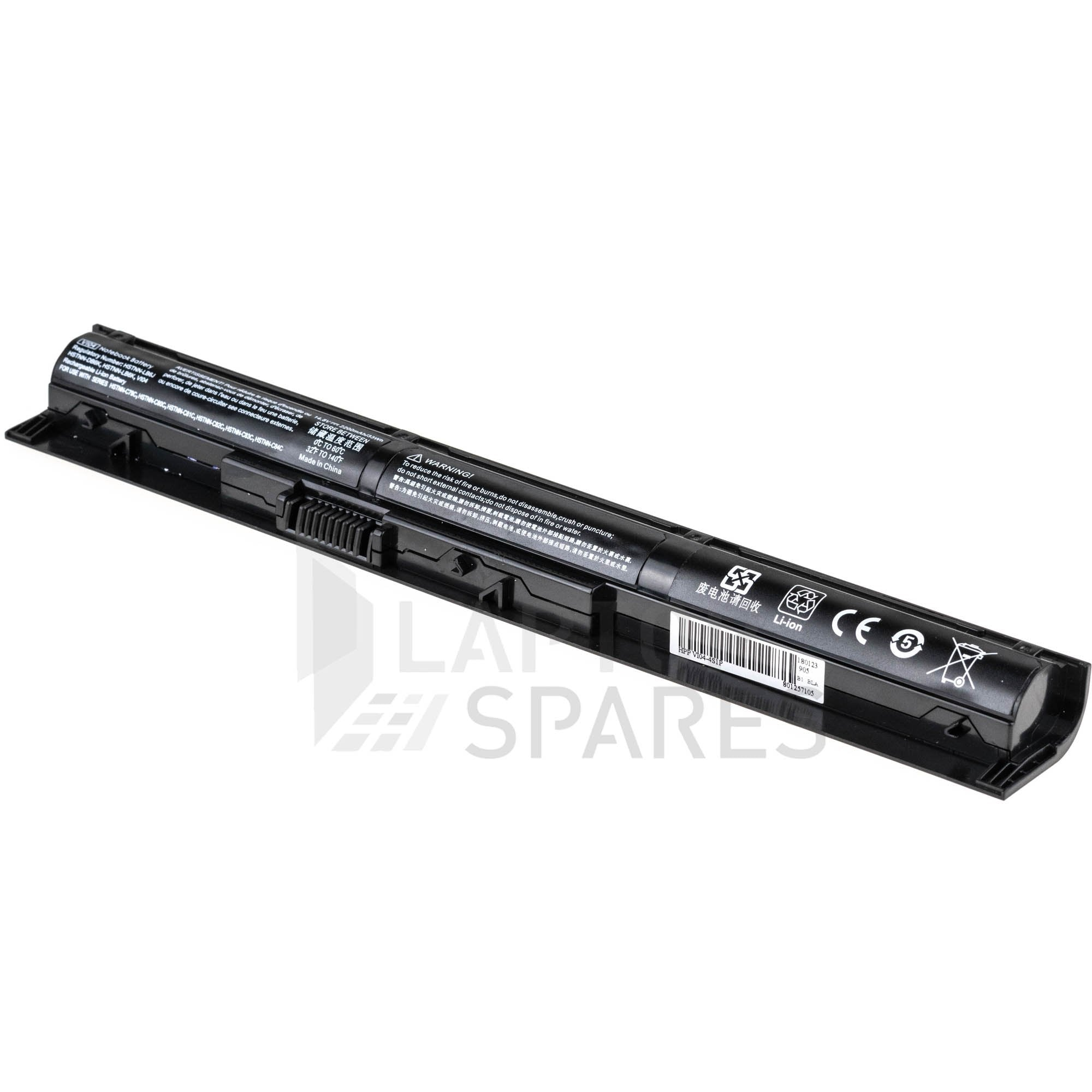 HP J6U78AA 2200mAh 4 Cell Battery