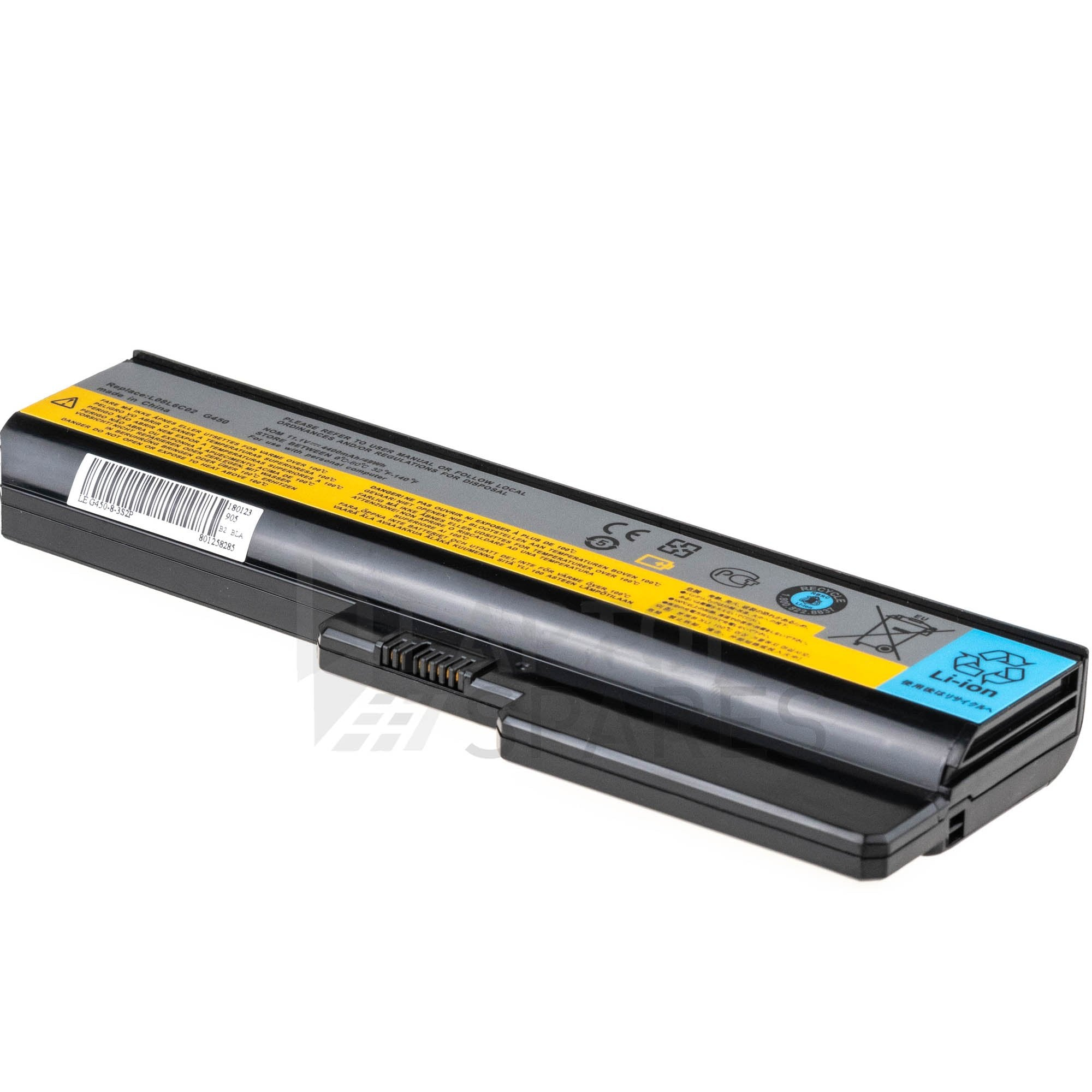 Lenovo 3000 G430M G430A G430L 4400mAh 6 Cell Battery