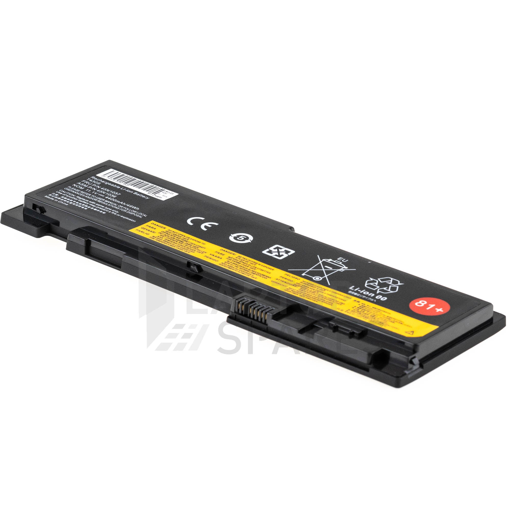 Lenovo ThinkPad T430S 4400mAh 6 Cell Battery