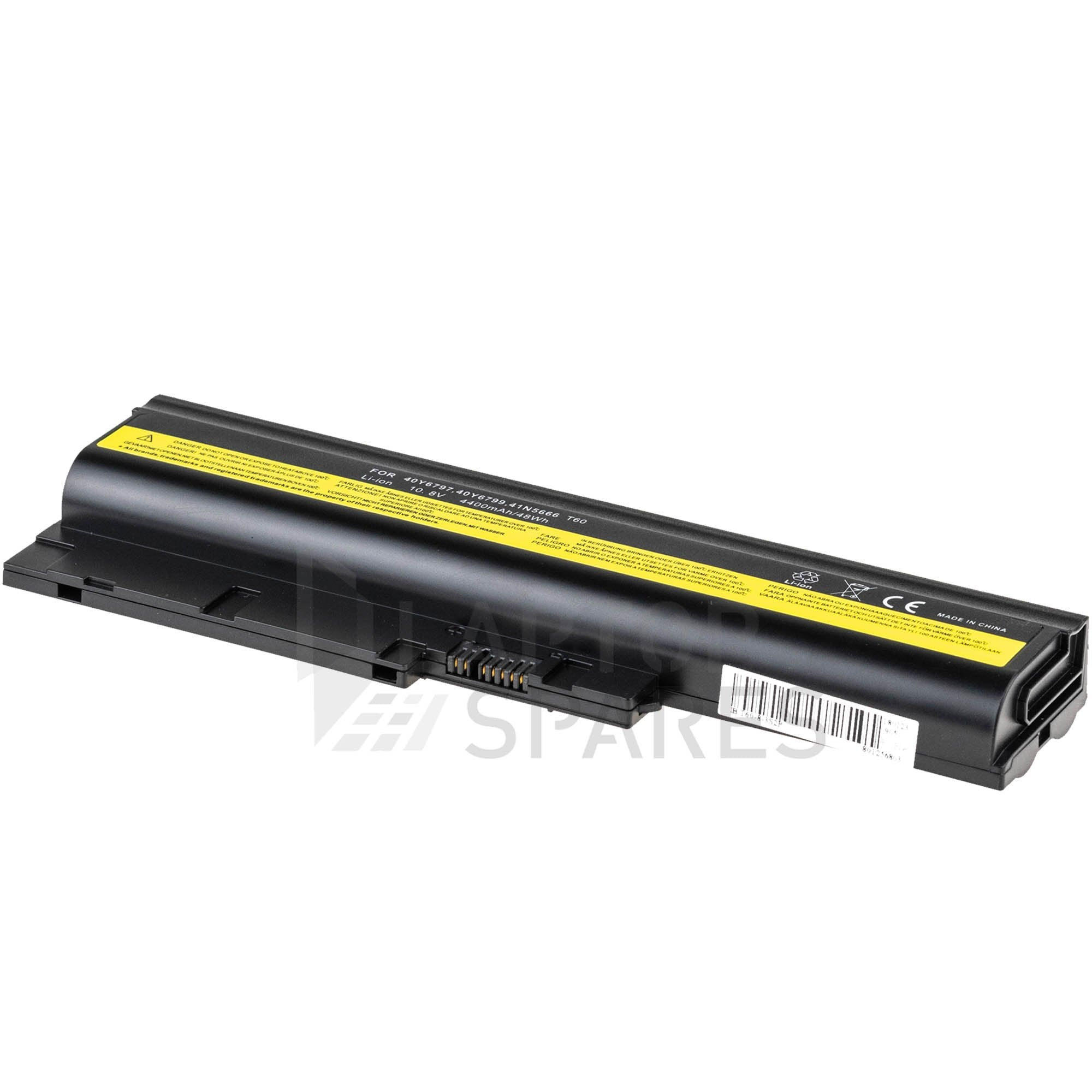 Lenovo ThinkPad T61p 8938 8939 4400mAh 6 Cell Battery