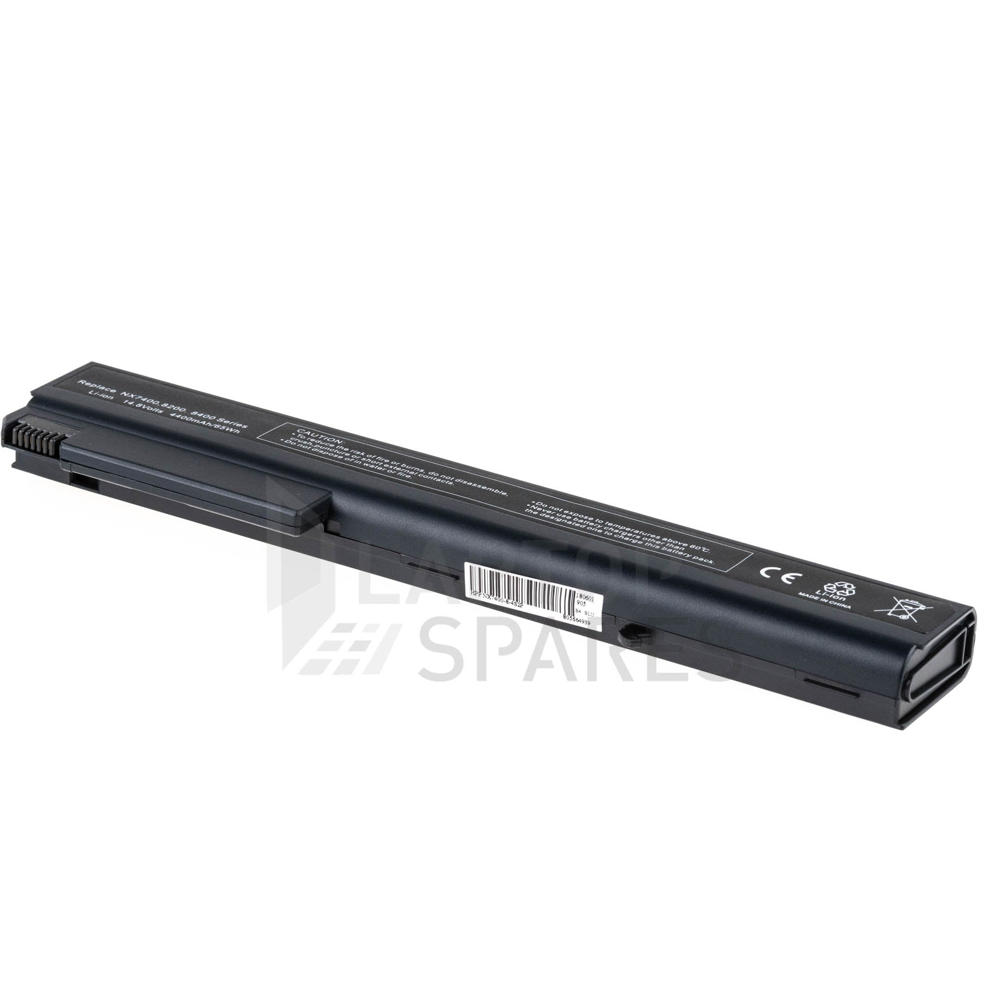 HP Compaq  8710p 8710w 4400mAh 8 Cell Battery
