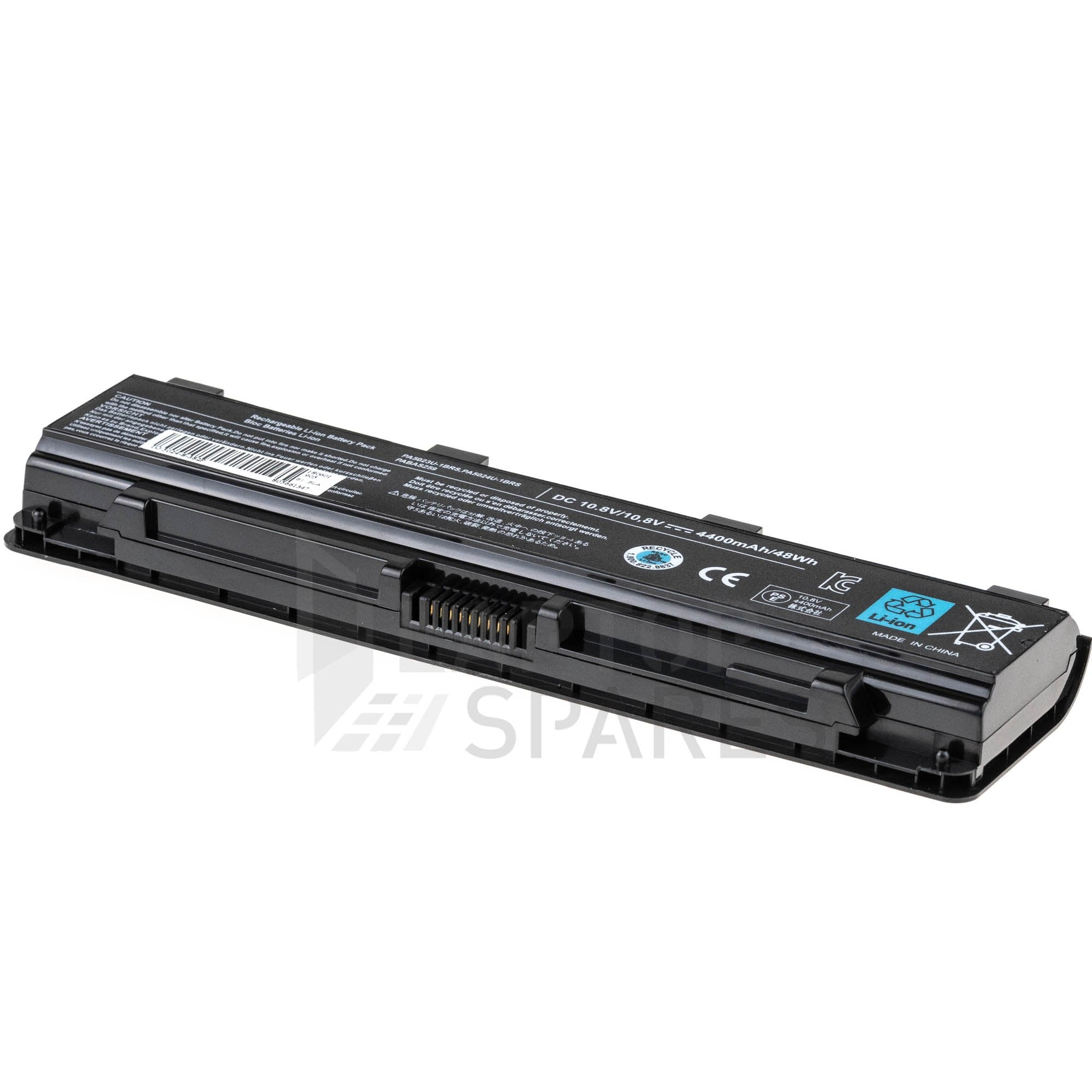 Toshiba Satellite M805D 4400mAh 6 Cell Battery