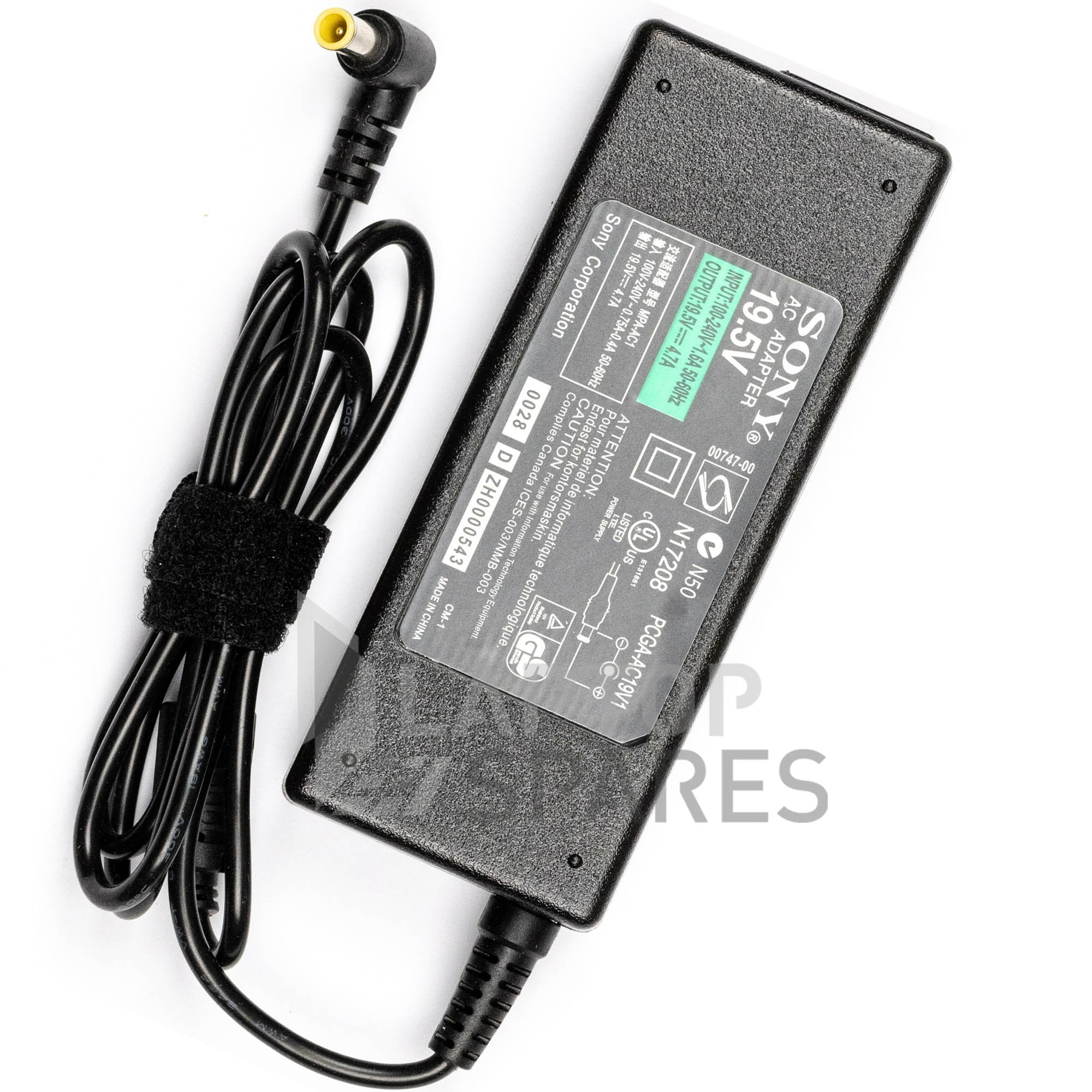 Sony Vaio VPCSB18GH VPCSB18GH/B VPCSB19GG Laptop AC Adapter Charger