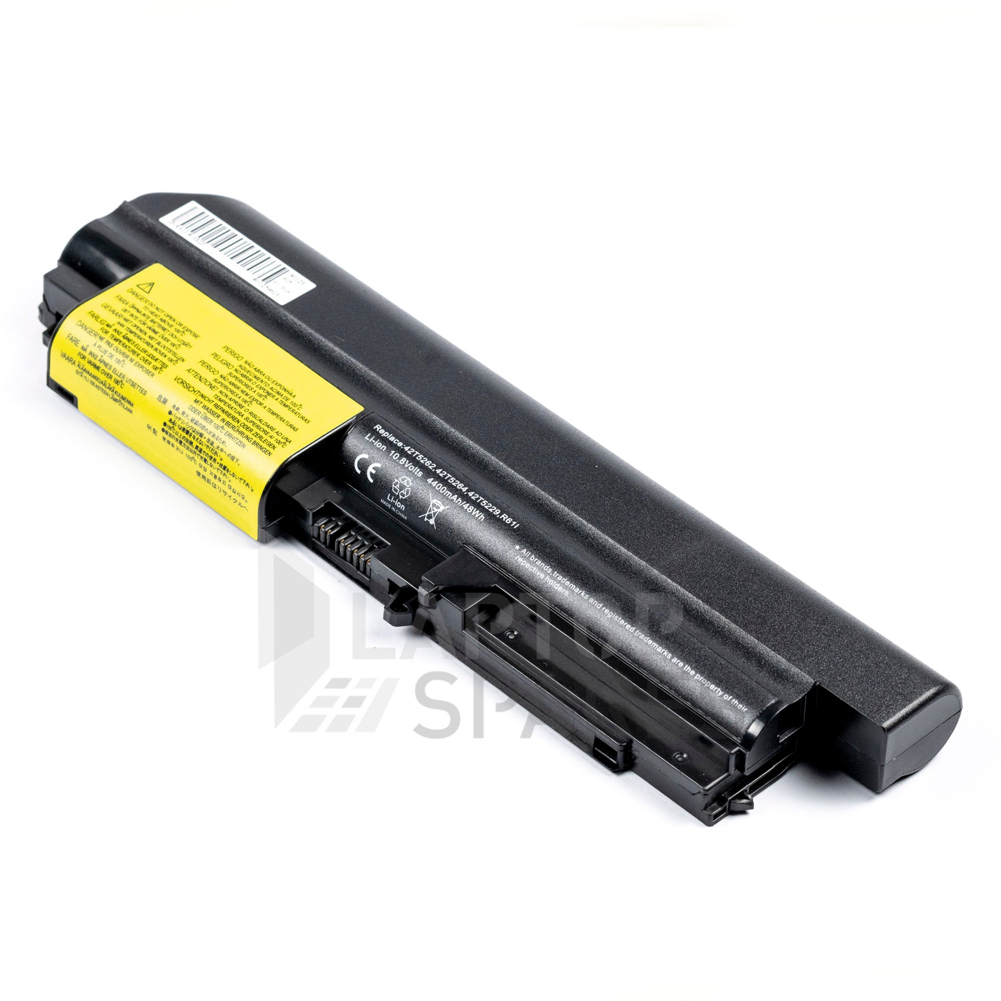 Lenovo ThinkPad R400, T400 4400mAh 6 Cell Battery