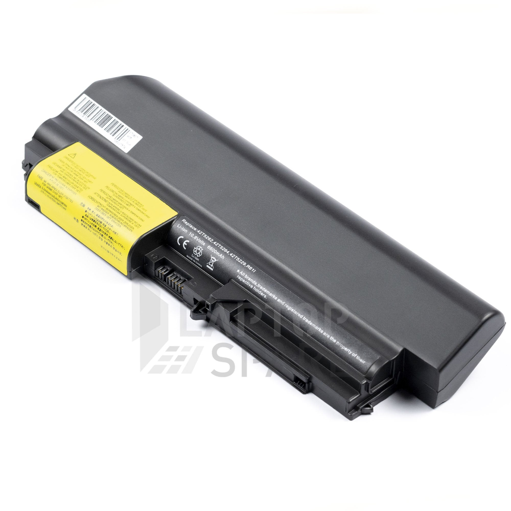 IBM ThinkPad T61 7658 7659 7660 6600mAh 9 Cell Battery