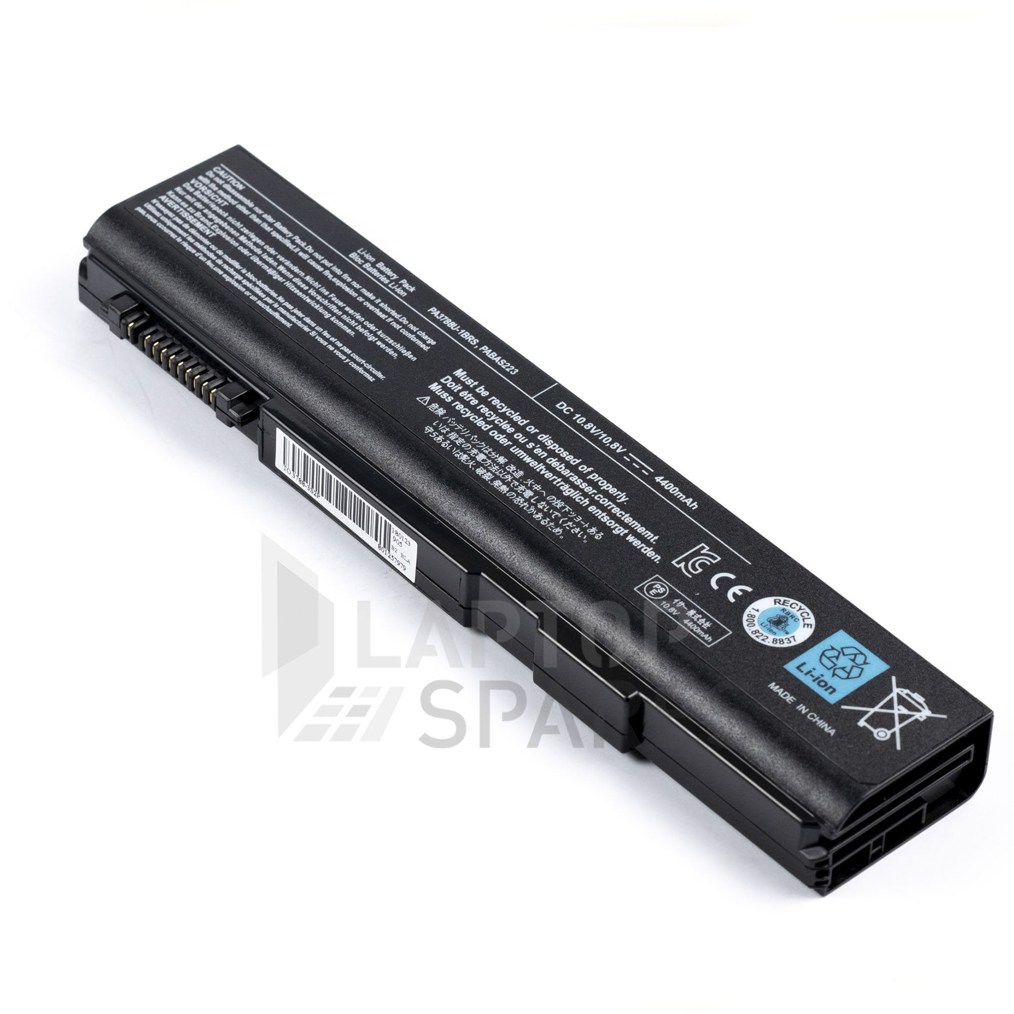 Toshiba Satellite K40 213Y/HDX 226Y/HD 226Y/HDX 4400mAh 6 Cell Battery
