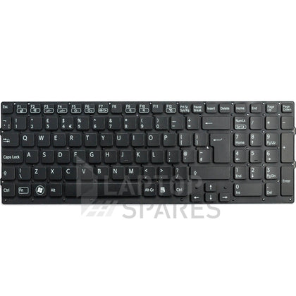 Sony VAIO VPC-F235FW/B Without Frame Laptop Keyboard