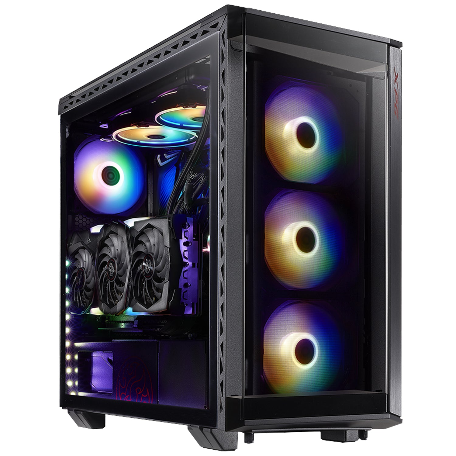 XPG BATTLE CRUISER Mid-Tower Gaming Chassis