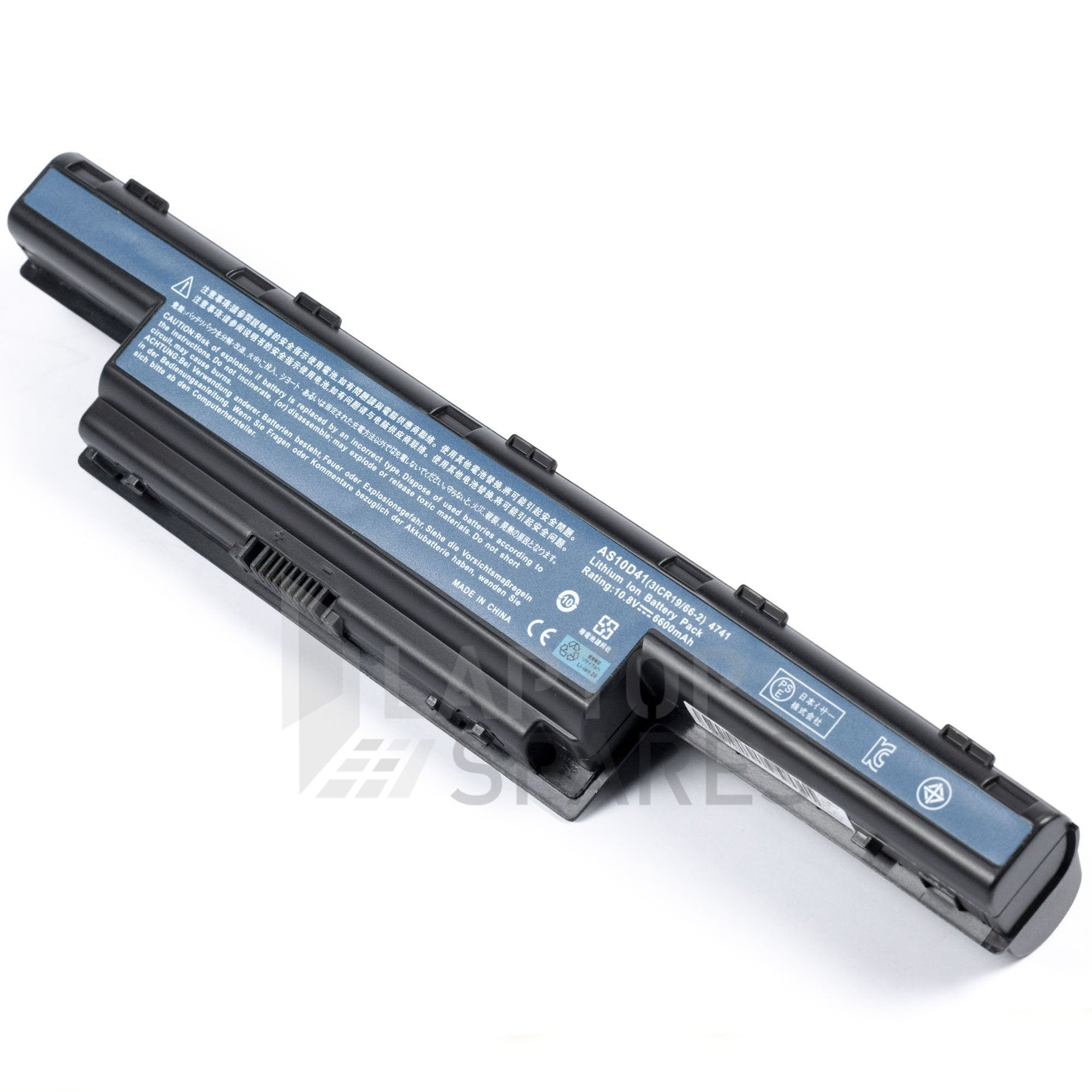 Acer Aspire 7251 7551 7560 6600mAh 9 Cell Battery