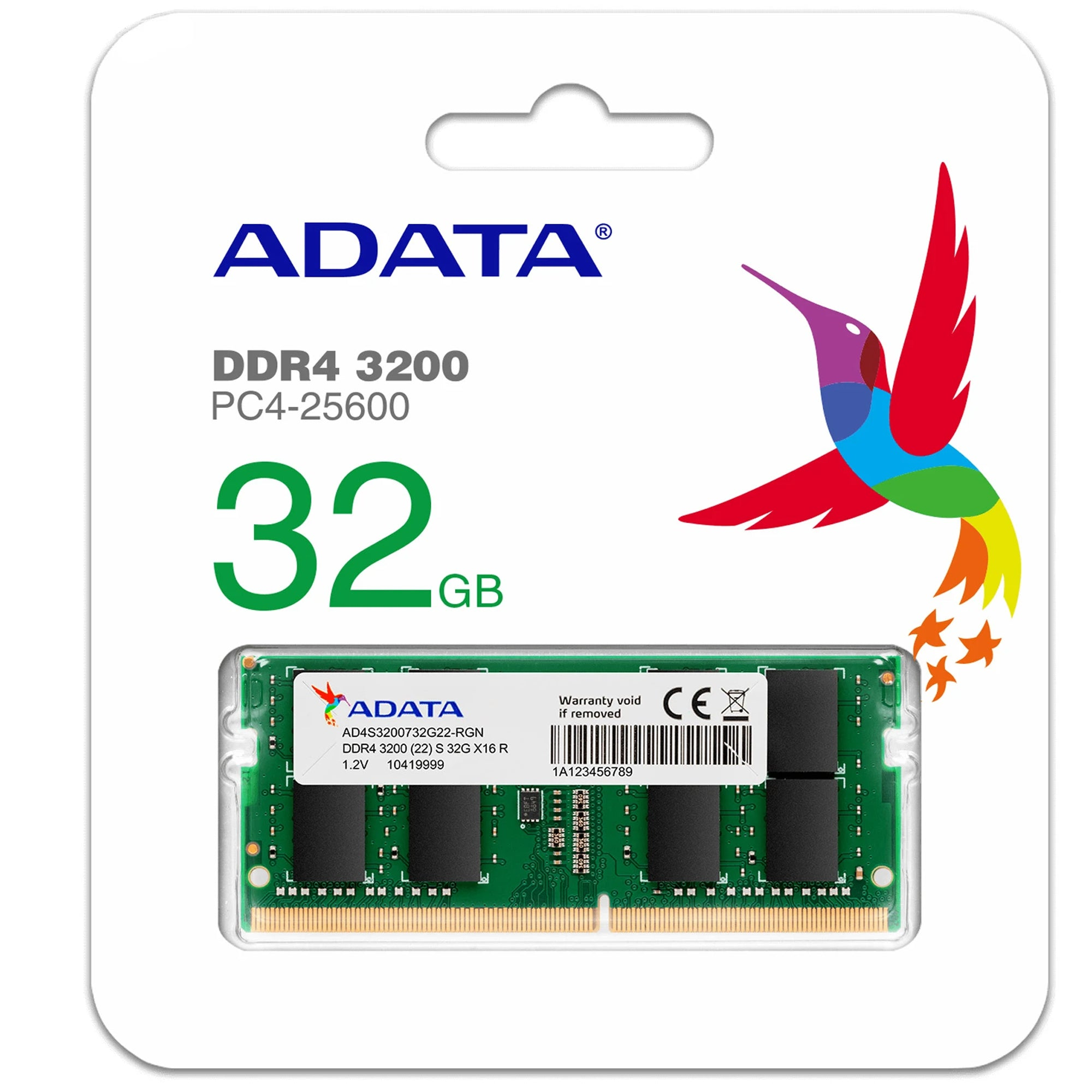 ADATA 32GB DDR4 3200MHz SO-DIMM LAPTOP RAM