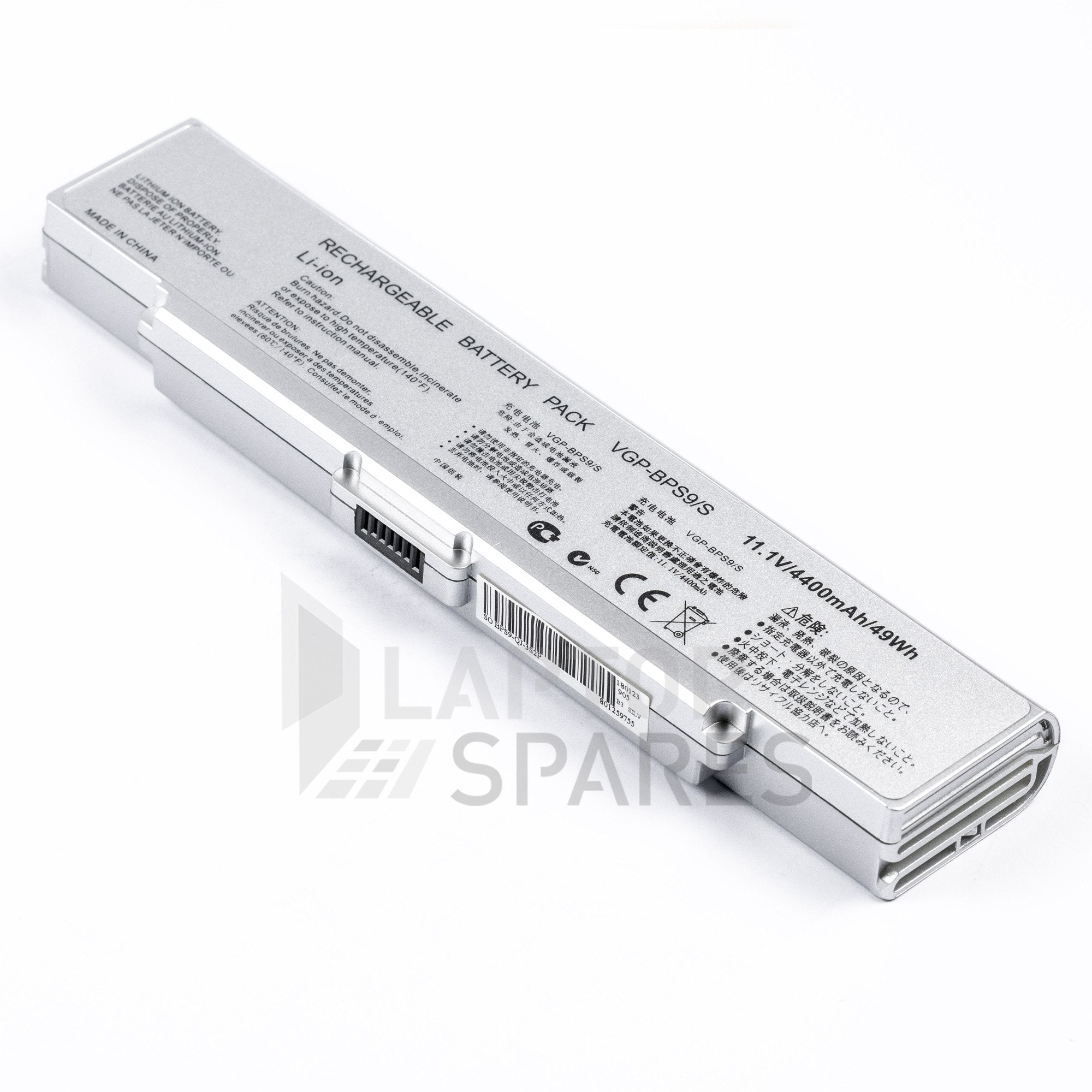 Sony VAIO VGN-CR21E/L 4400mAh 6 Cell Battery