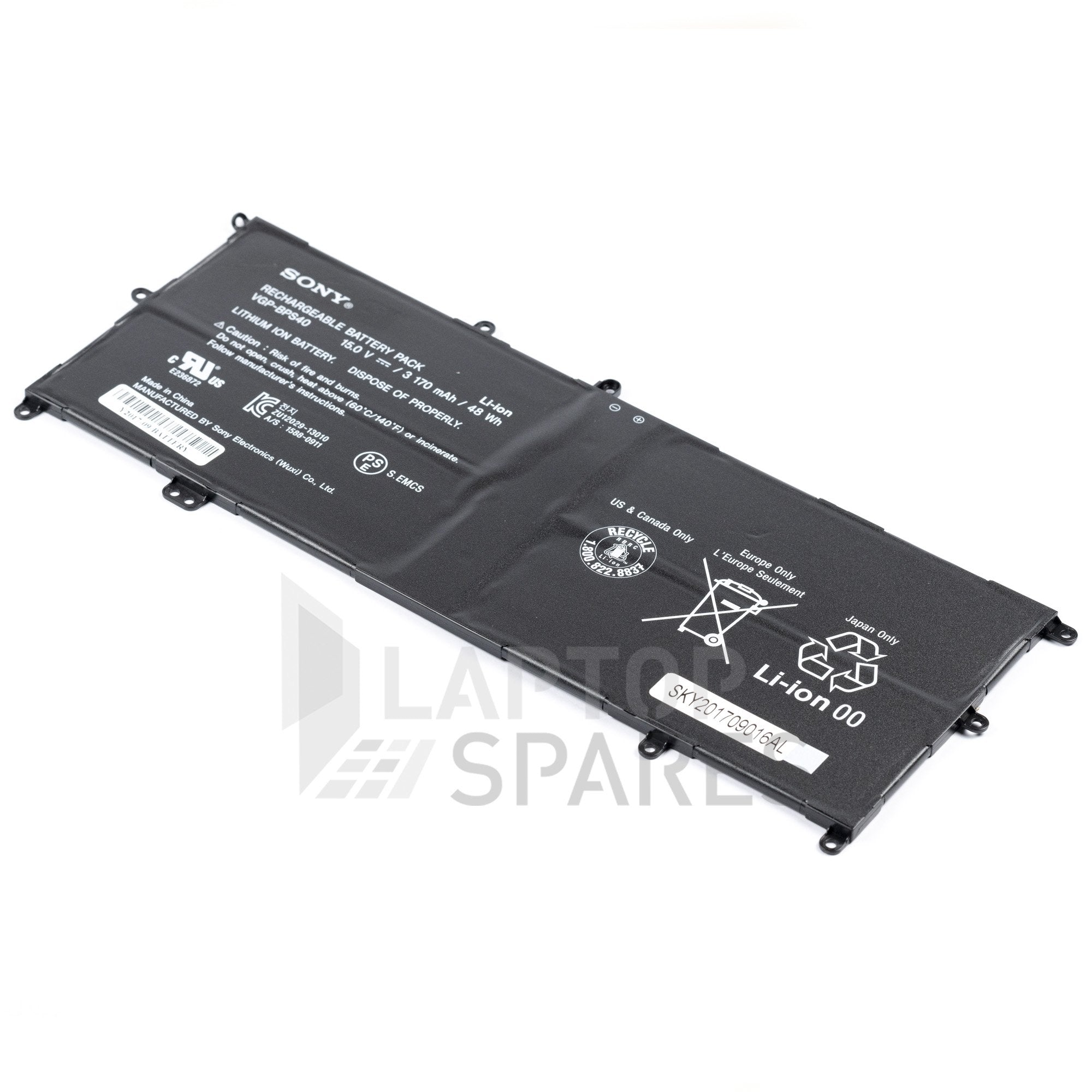 Sony Vaio SVF15N26CXB 3170mAh Battery