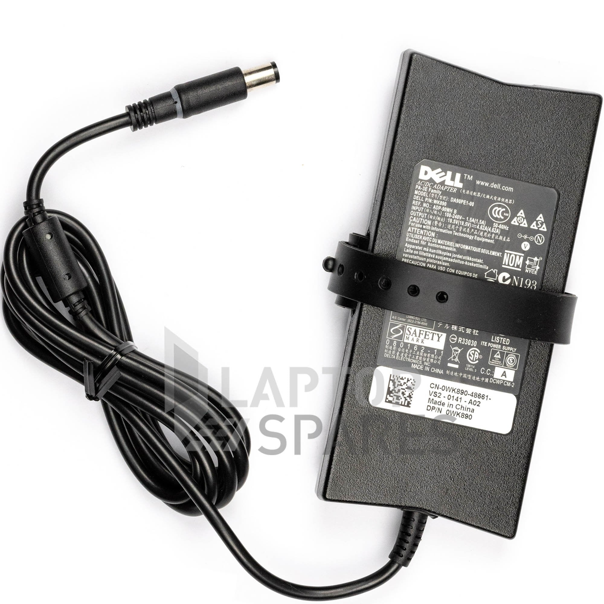 Dell Inspiron 15R Turbo P25F P25F001 7520 N7520 Laptop Slim AC Adapter Charger