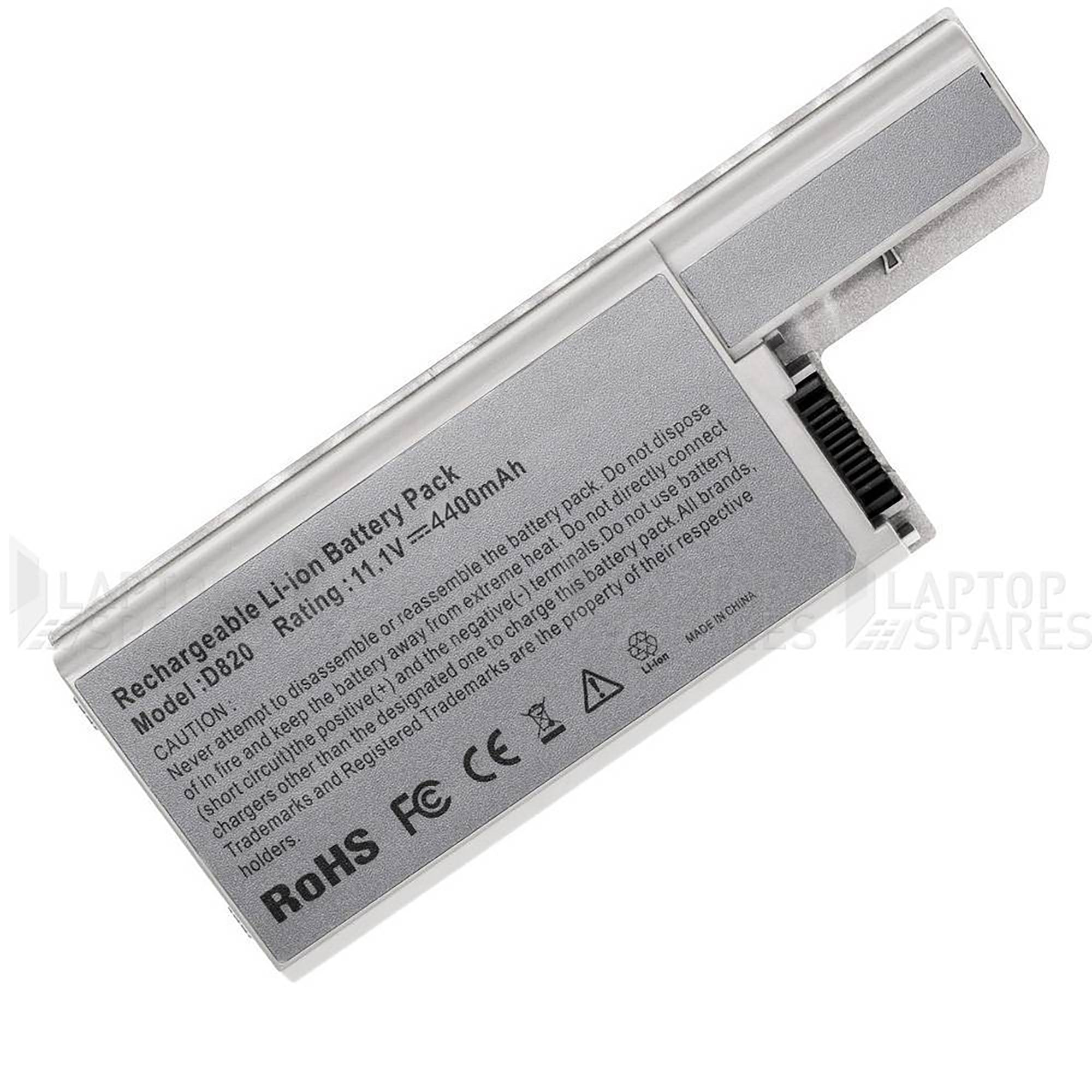 Dell Latitude D531 D531N 4400mAh 6 Cell Battery