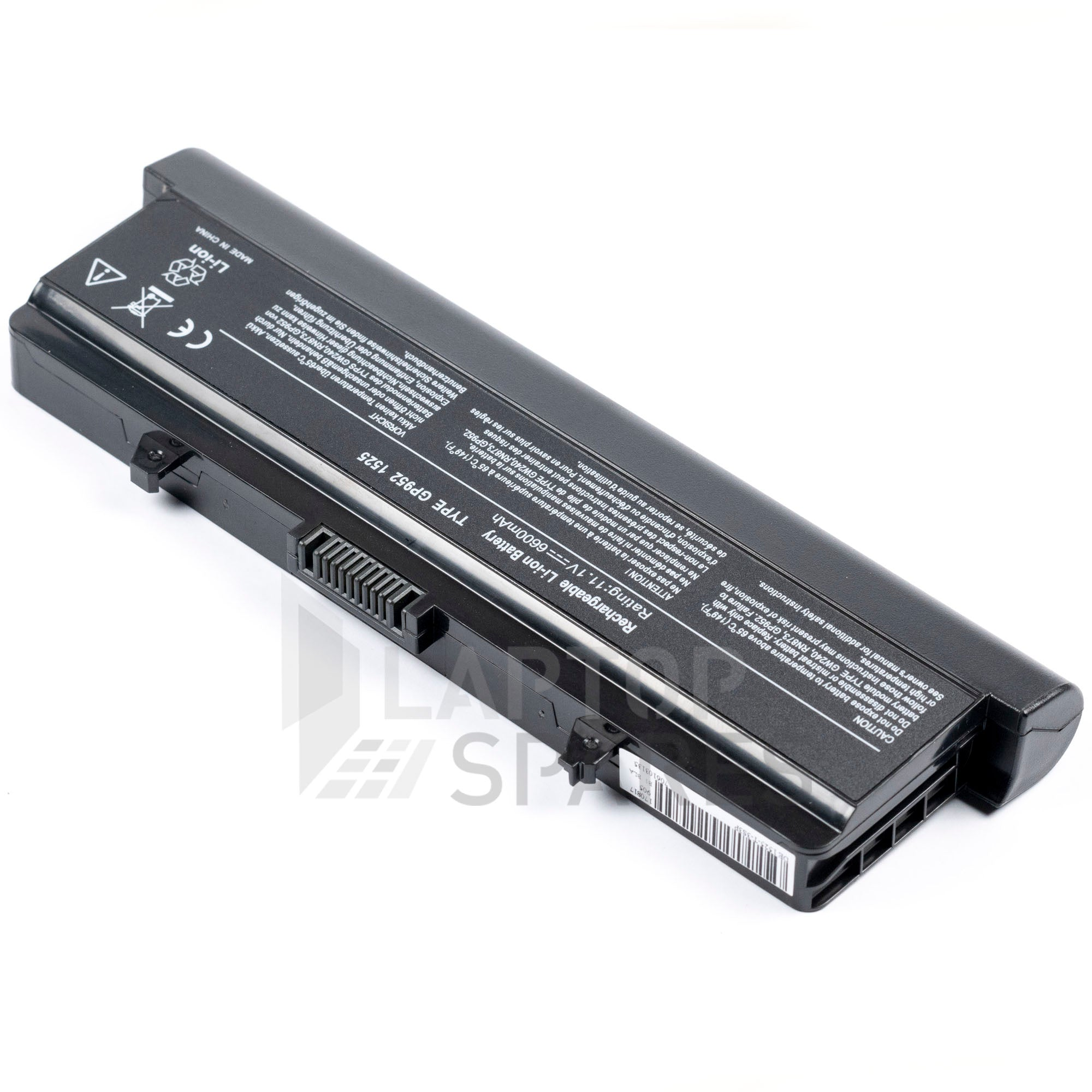 Dell Inspiron 1525 6600mAh 9 Cell Battery