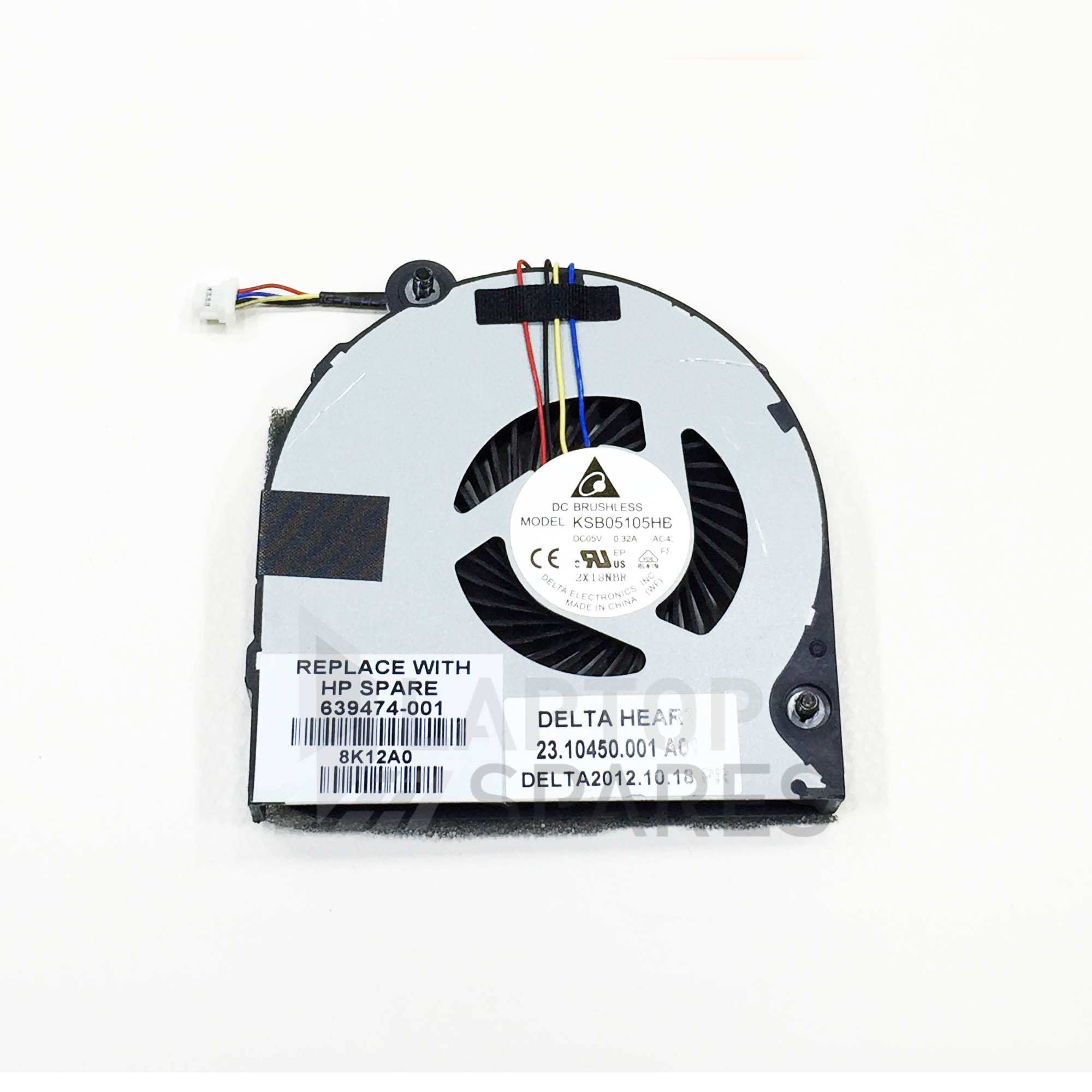 HP EliteBook 8570P Laptop CPU Cooling Fan