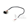 HP Compaq G72 CQ72 DC Power Jack with Wire
