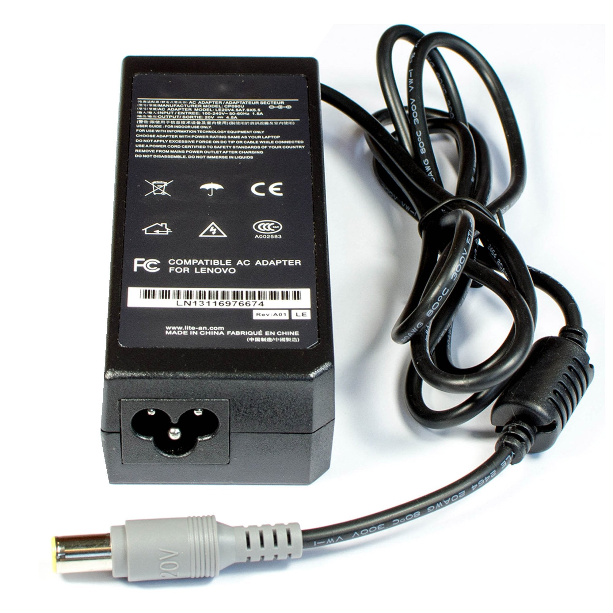 Lenovo ThinkPad Z60m 2529E 3F 2529E1U 2529E2U Laptop AC Adapter Charger