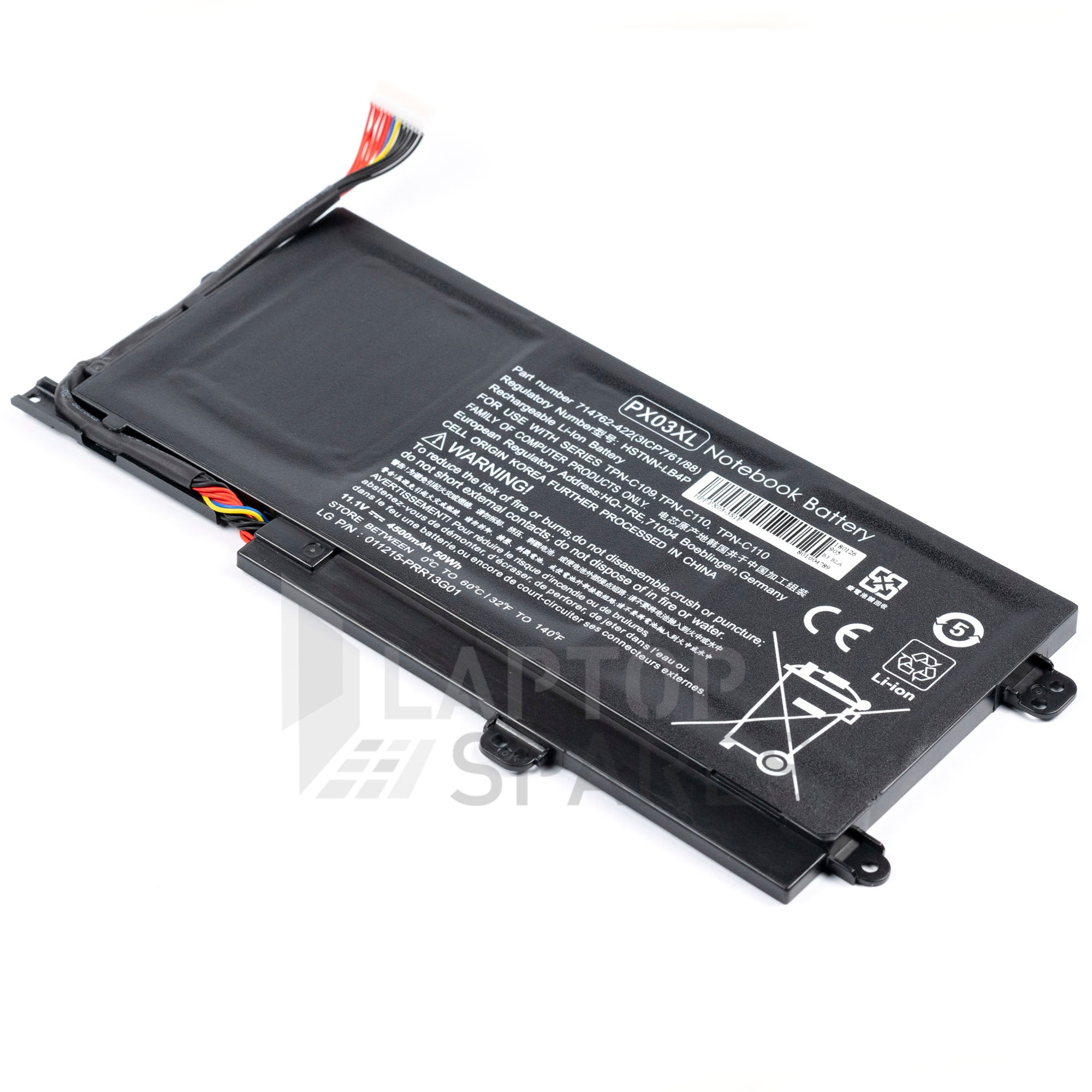HP Envy Touchsmart ultrabook 715050-001 4500mAh Battery