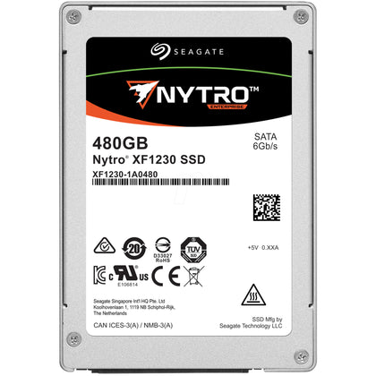 Seagate NYTRO 480GB 2.5 Internal Solid State Drive