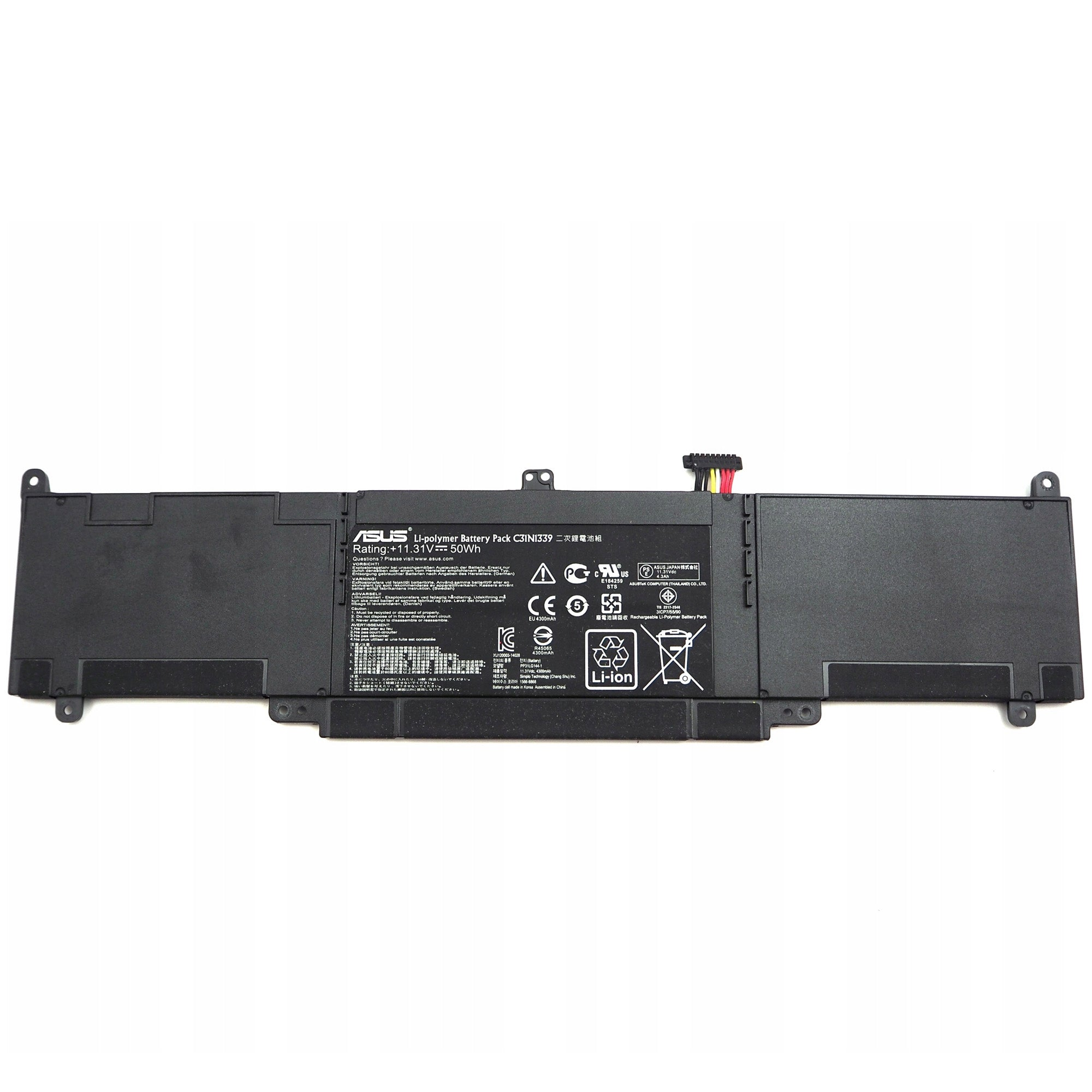 ASUS ZenBook C31N1339 4300mAh 3 Cell Battery