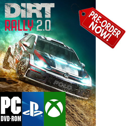 [Pre-Order] DiRT Rally 2.0 (PC, PS4, XBOX)