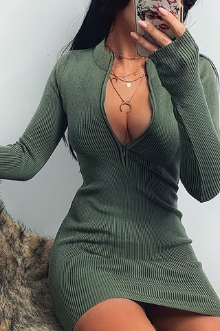 Kelly Dress Green