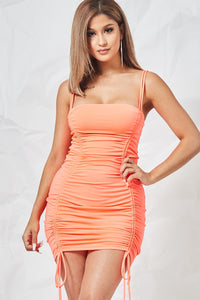 Rochelle Dress (orange)