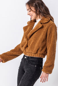 Teddy Jacket (Caramel)
