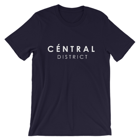 Central District Tee (Navy)