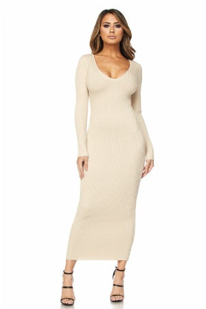 Mimi Dress (Soft Taupe)