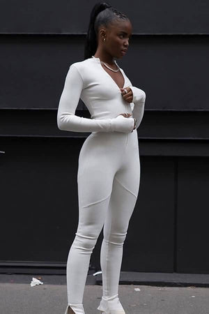 Kelsi Jumpsuit white