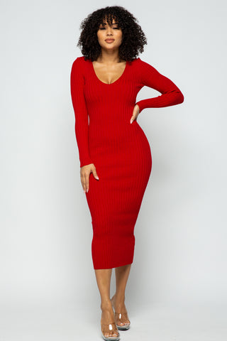 Kimi dress (Red)
