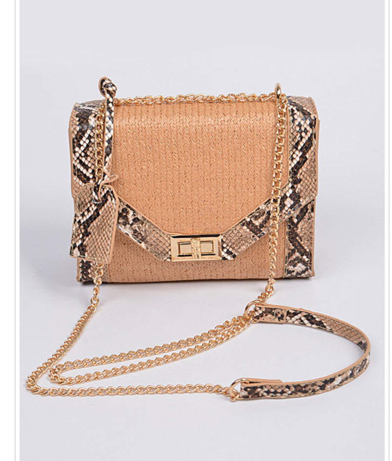 Snake Charm Cross Body