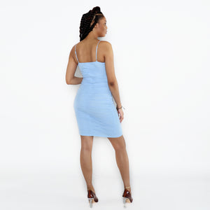 Draya Dress (Baby Blue)