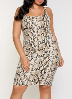 Python Swing Dress Plus