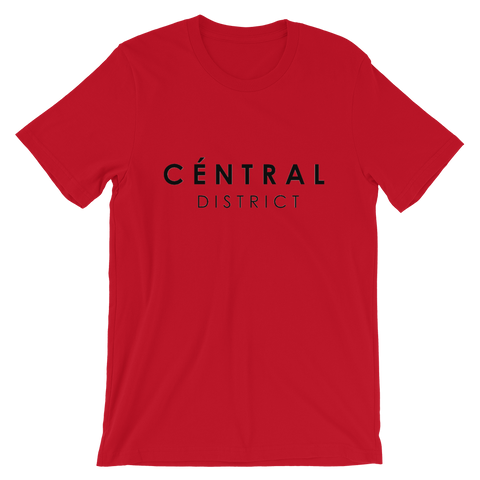 Central District Tee (Red/Black)