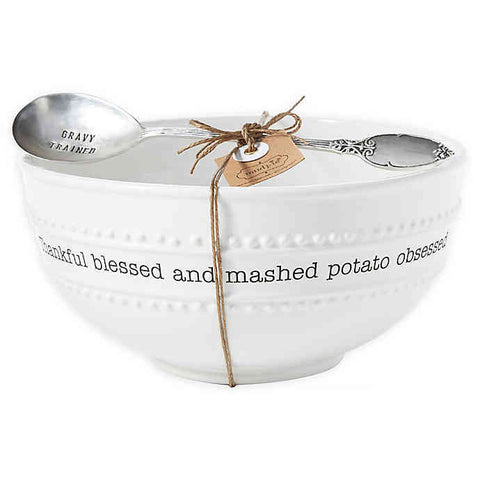Mashed Potato Obsessed Bowl Set
