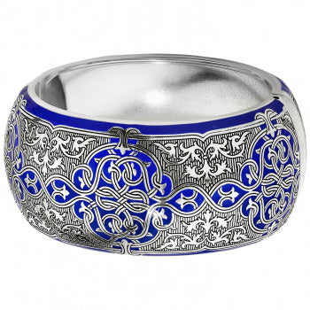 Royal Brocade Hinged Bangle