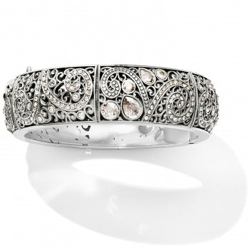 Mumtaz Bloom Hinged Round Bangle