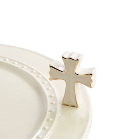 Mini White Cross