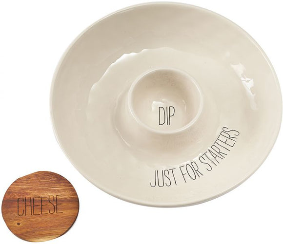Just For Starters Dip Bowl
