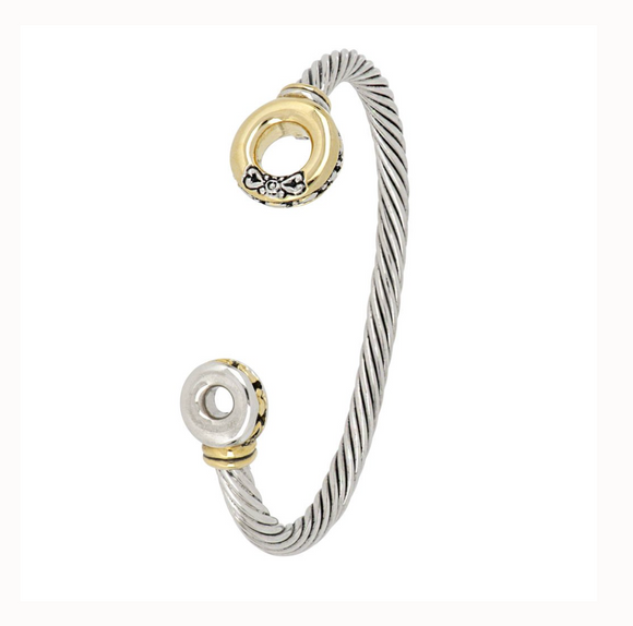 Ciclo D'Amor Two Tone Cuff