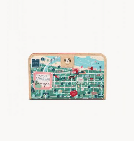 Historic Savannah Snap Wallet