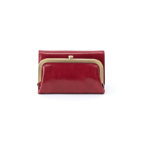 Riva Logan Berry Wallet Hobo
