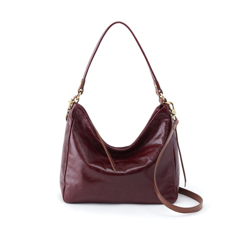 Delilah Deep Plum Convertible Crossbody