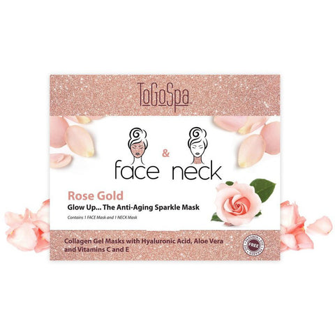 Rose Gold Face Mask & Neck