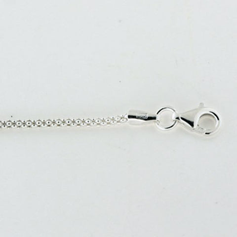 CARGO™  1.6mm Sterling Silver Popcorn Chain