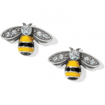 Bee Happy Mini Post Earring